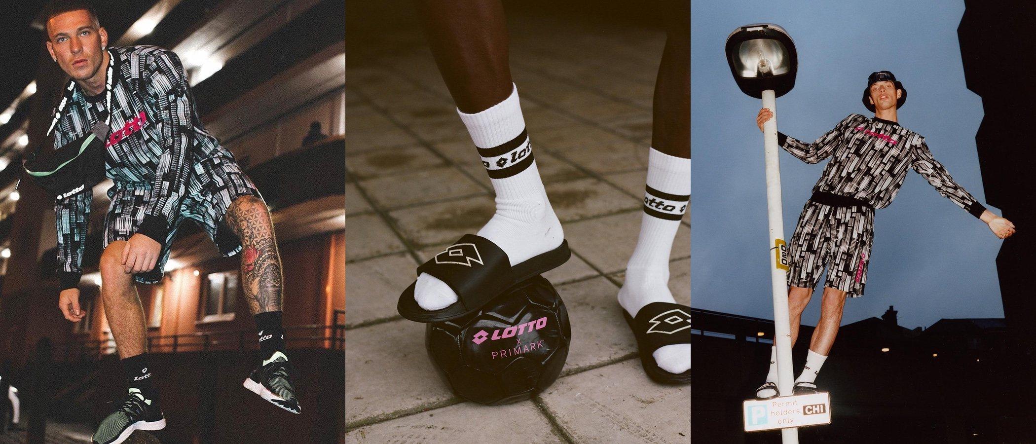 Lotto y Primark lanzan una colección conjunta de prendas deportivas
