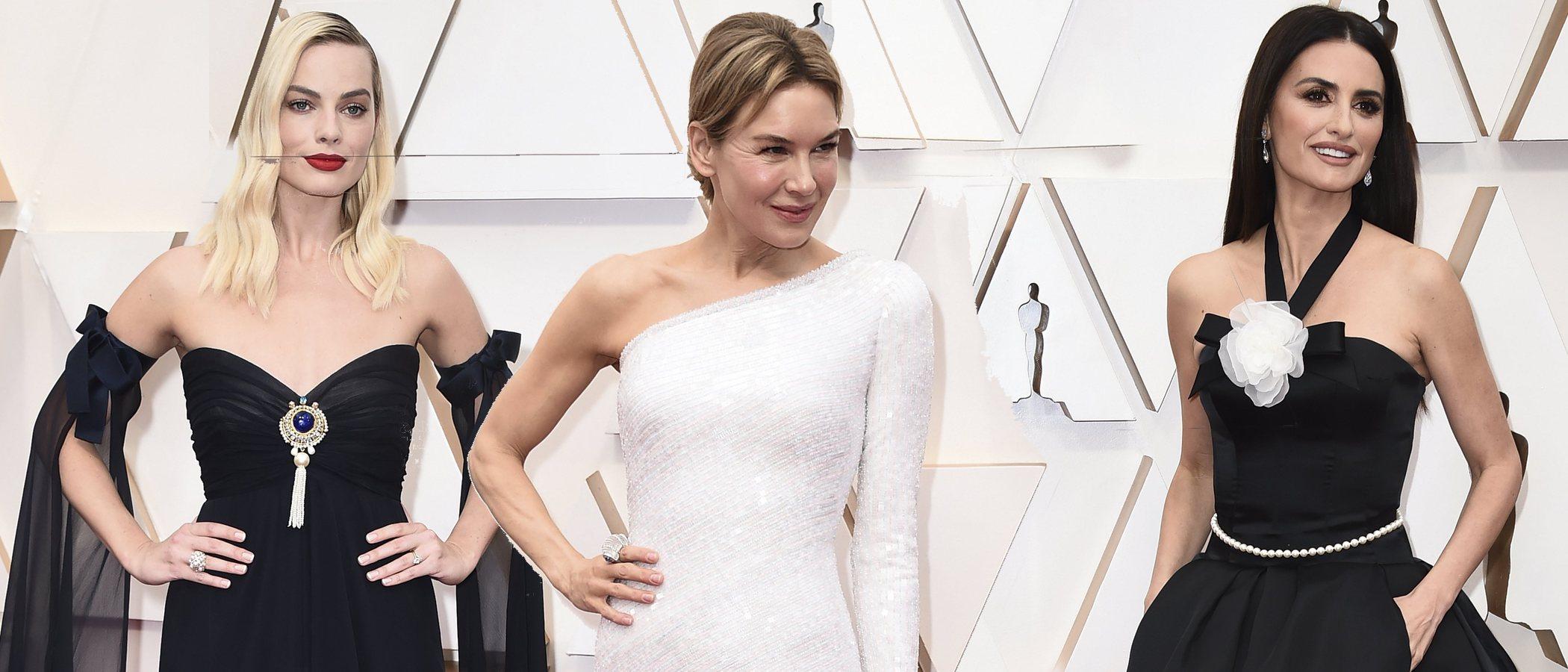 Penélope Cruz, Margot Robbie y Renée Zellweger, entre las mejor vestidas de los premios Oscar 2020