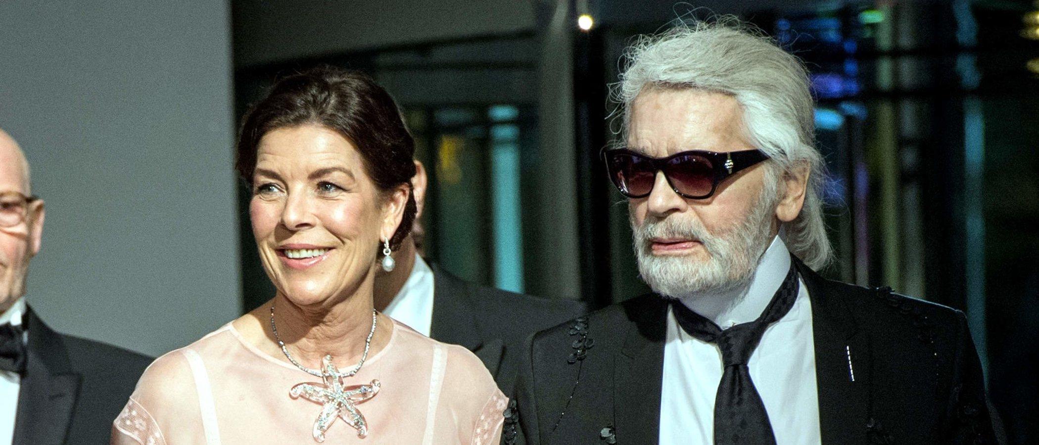 La Princesa Carolina de Mónaco anuncia el nuevo responsable del Baile de la Rosa tras la muerte de Lagerfeld