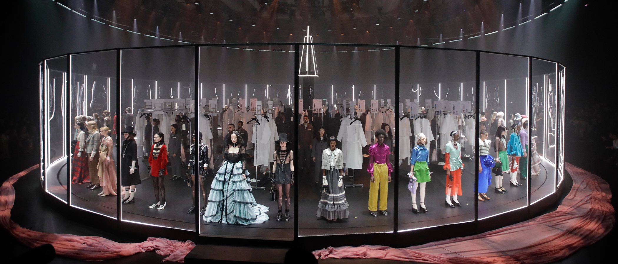 El triunfo religioso y surrealista de Gucci conquista Milán