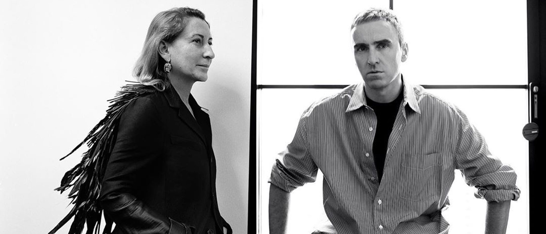 Miuccia Prada compartirá la dirección de Prada con Raf Simons