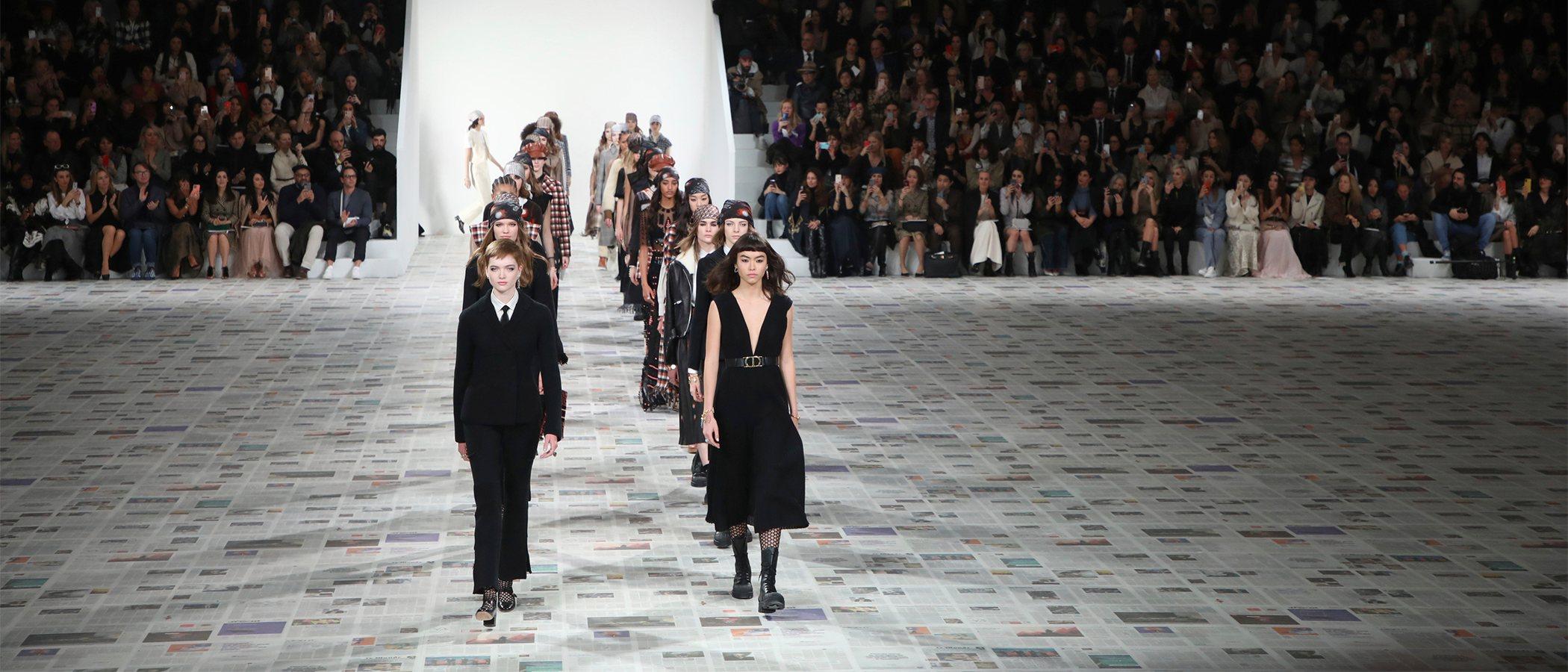 El movimiento feminista encabezado por Dior regresa a París