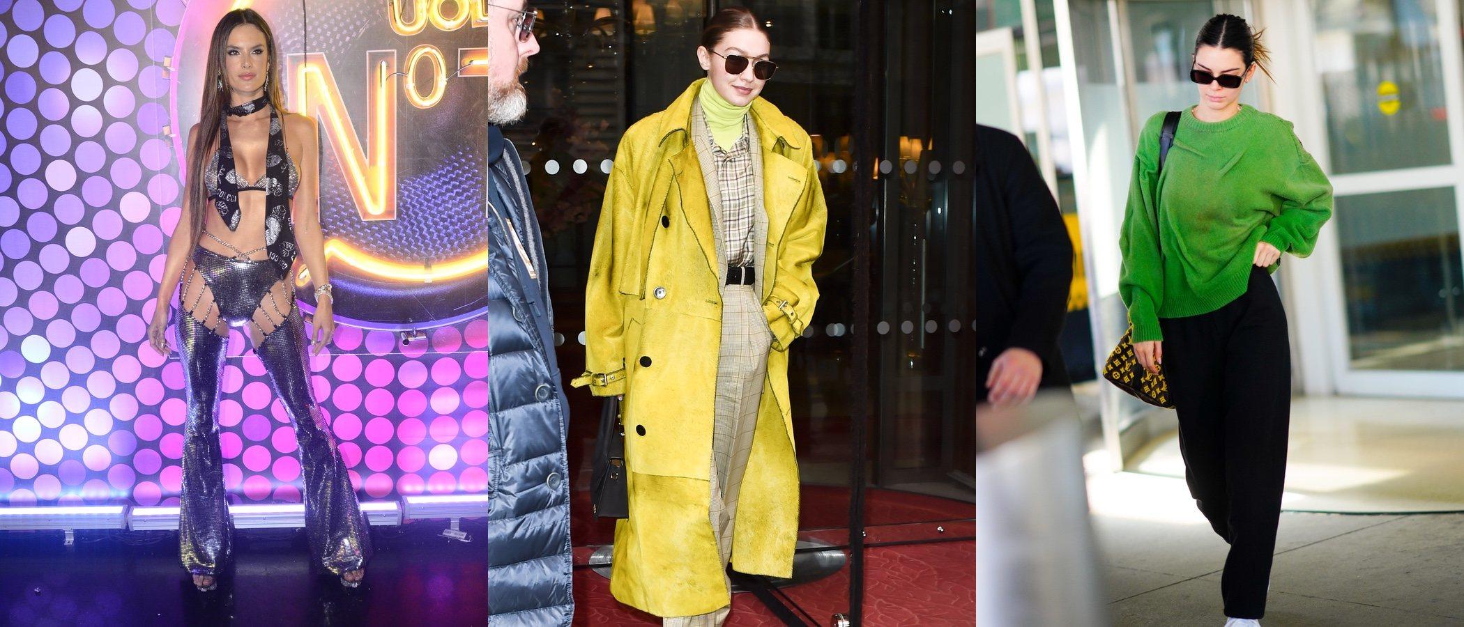 Alessandra Ambrosio, Gigi Hadid y Kendall Jenner, entre las peor vestidas de la semana