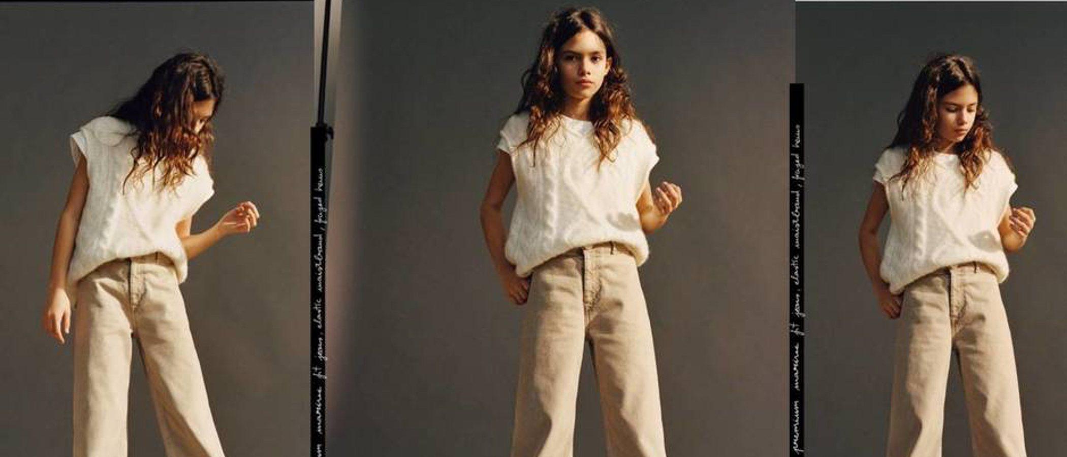 Ava, hija de Paz Vega, debuta como modelo de Zara Kids