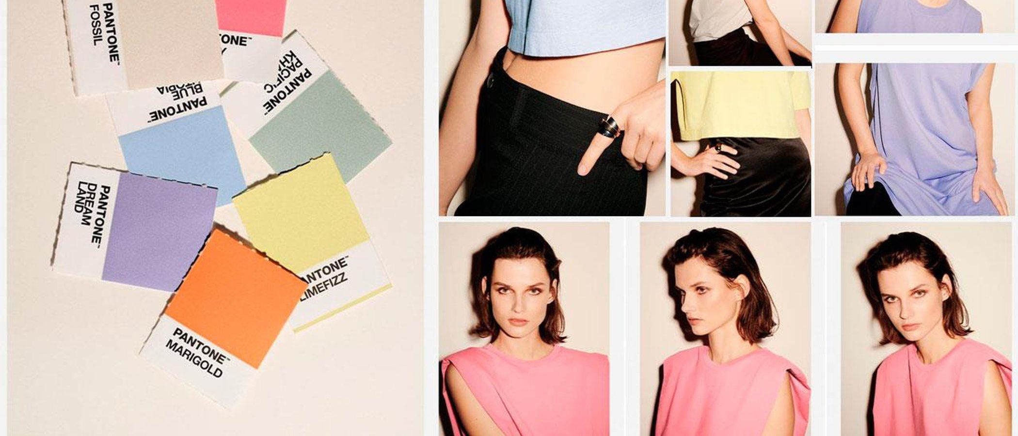 Zara y Pantone crean una colección que dicta los colores de moda para la primavera/verano 2020