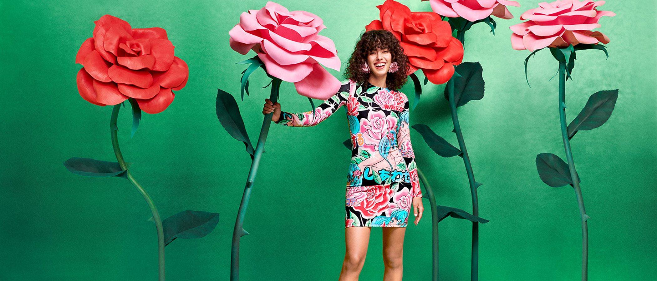 Así es la colorida colección de Maria Escoté para Desigual que apuesta por las flores para el otoño