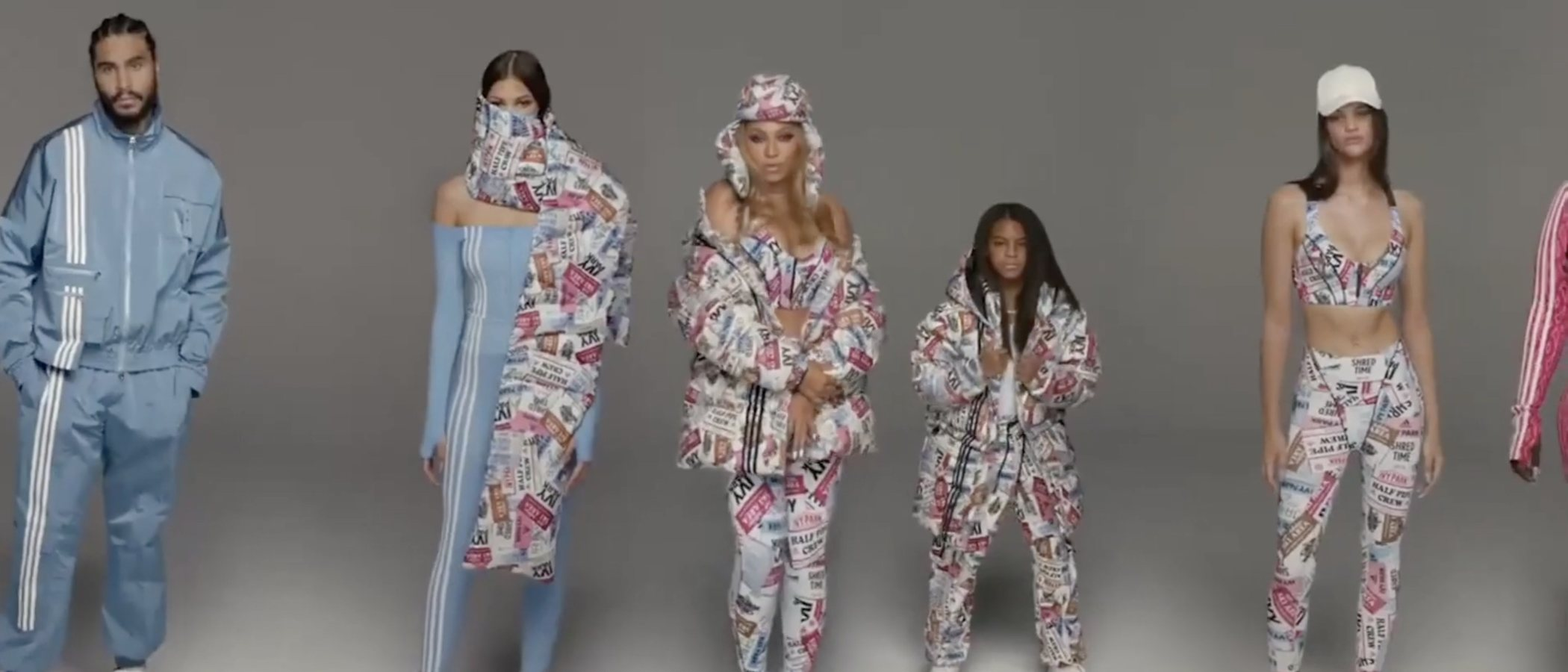 Blue Ivy Carter, hija de Beyoncé, debuta como modelo en la última campaña de Ivy Park x Adidas