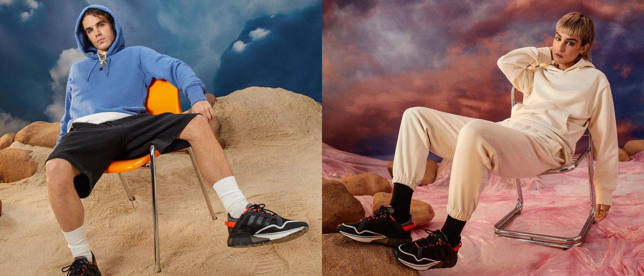 Natalia Lacunza y Sen Senra presentan las nuevas Adidas ZX 2K Pure