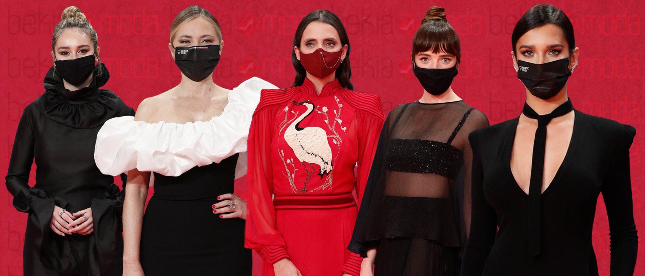 Los 10 mejores looks de la alfombra roja de los Premios Feroz 2021