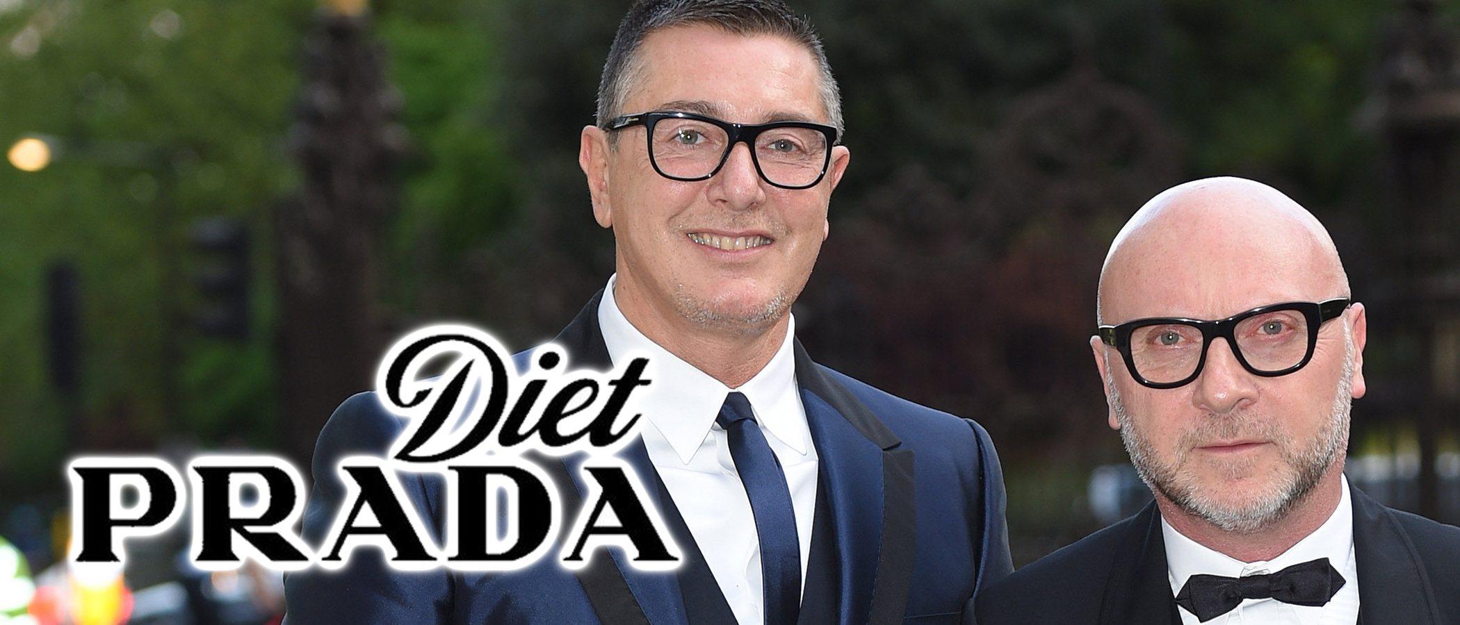 Dolce & Gabbana demanda a Diet Prada casi 600 millones de dólares tras su polémica racista en 2018