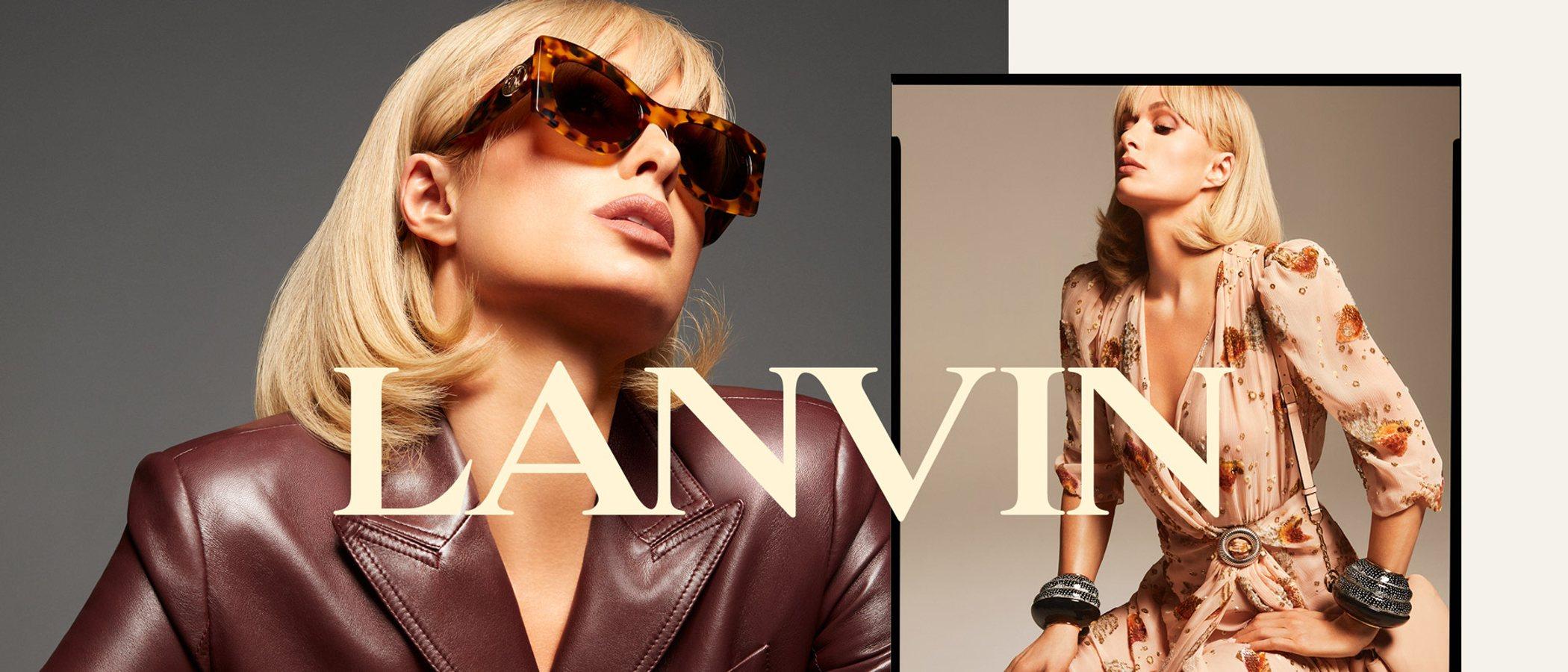 El renacer de Paris Hilton protagoniza la última campaña de Lanvin