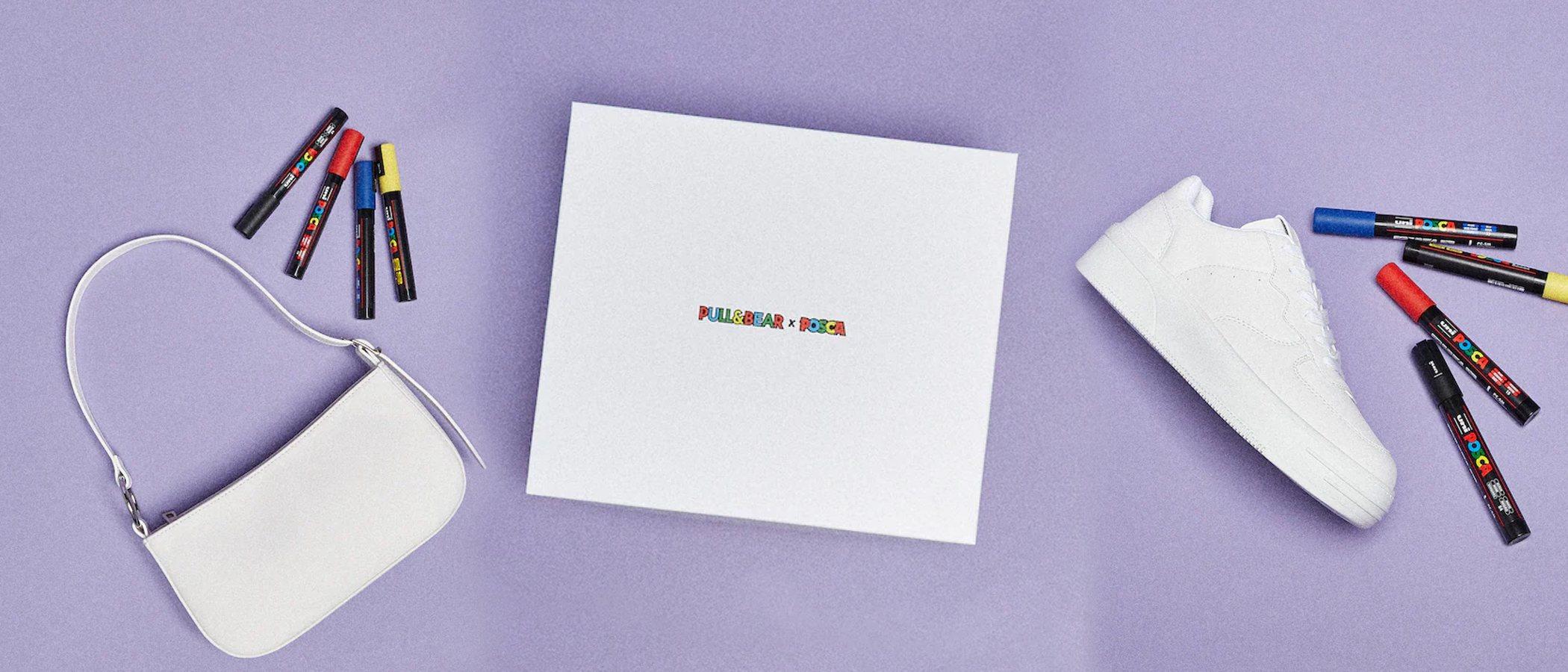 Pull&Bear te invita a sacar tu lado más creativo con su colección personalizable de la mano de Posca