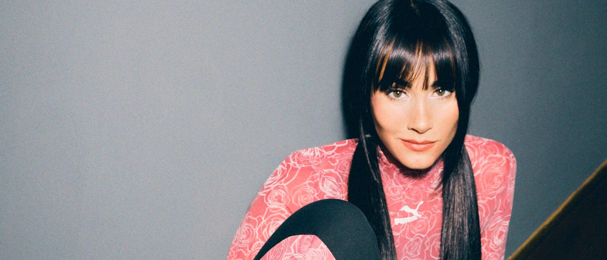 Aitana Ocaña debuta como diseñadora con su colección cápsula para Puma