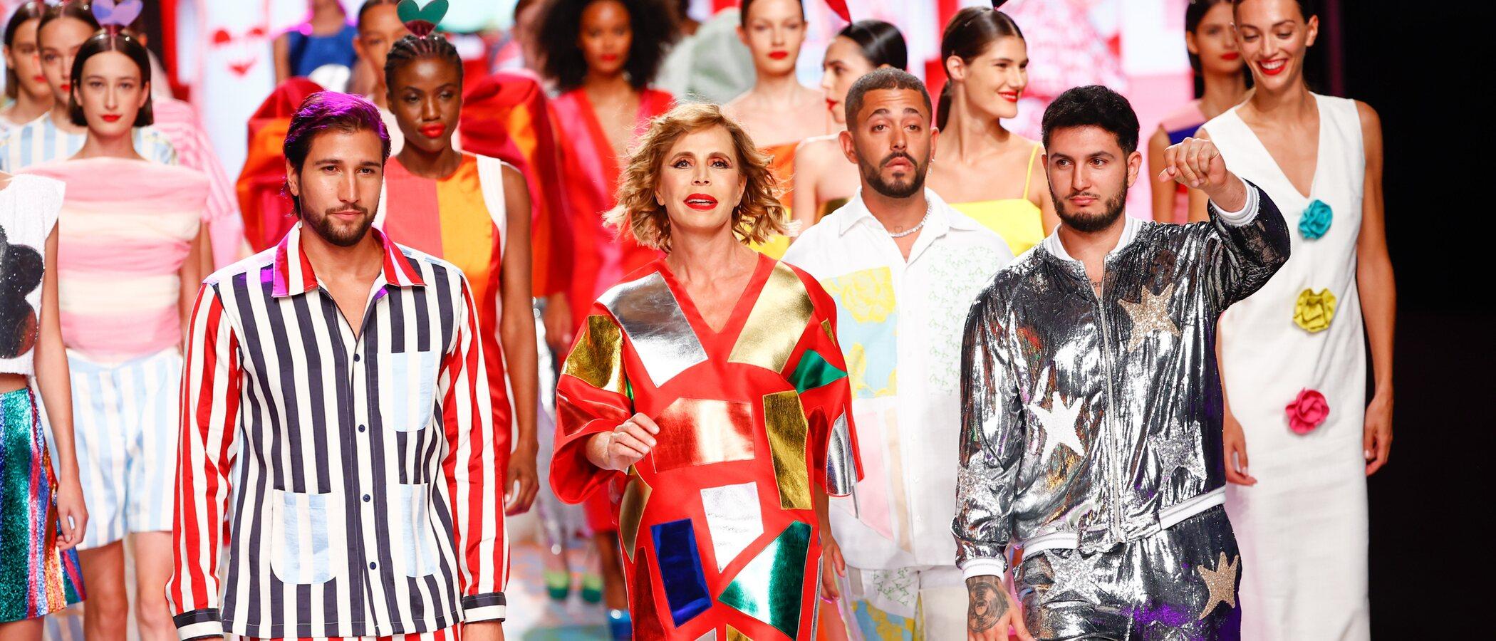 Ágatha Ruiz de la Prada escoge a Omar Montes y Gianmarco Onestini como las musas de su colección primavera/verano 2022