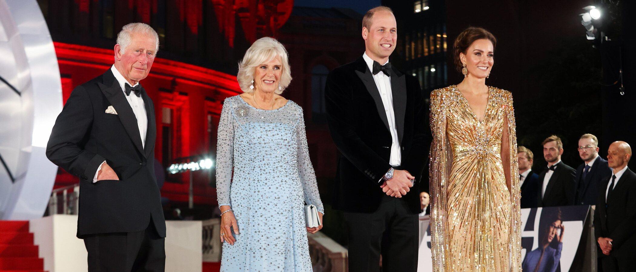 Kate Middleton vuelve a las alfombras rojas con el vestido más elegante que ha lucido nunca