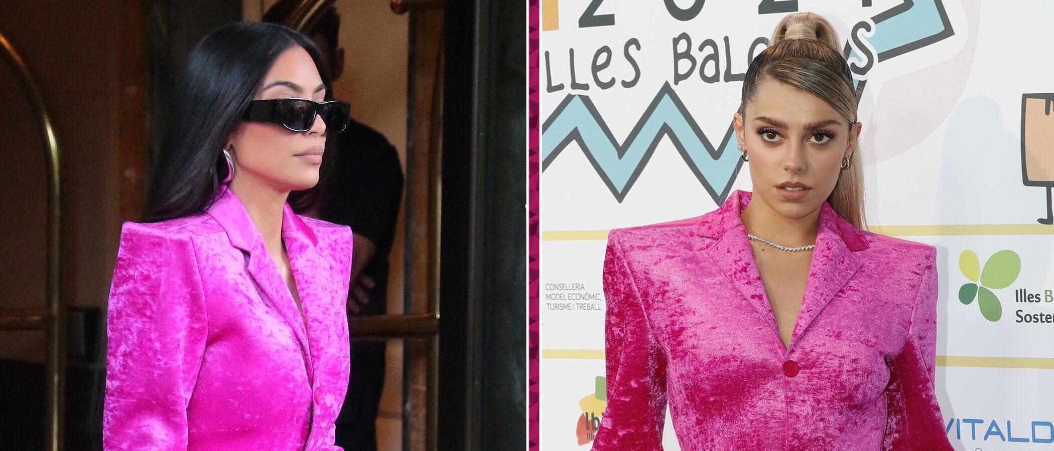 Paula Cendejas se adelanta luciendo el look más colorido de Kim Kardashian en las últimas semanas