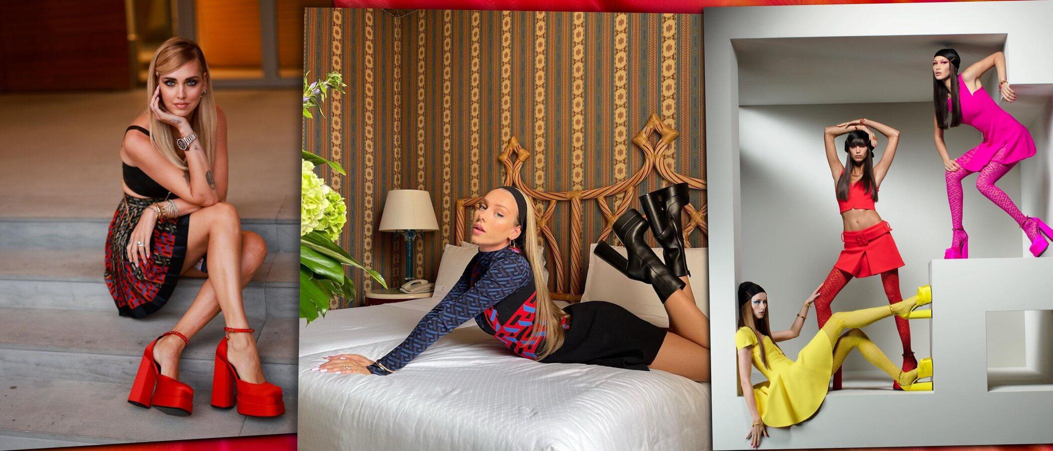 Zara tiene el clon de las plataformas de Versace que han llevado ya Ester Expósito y Aitana Ocaña