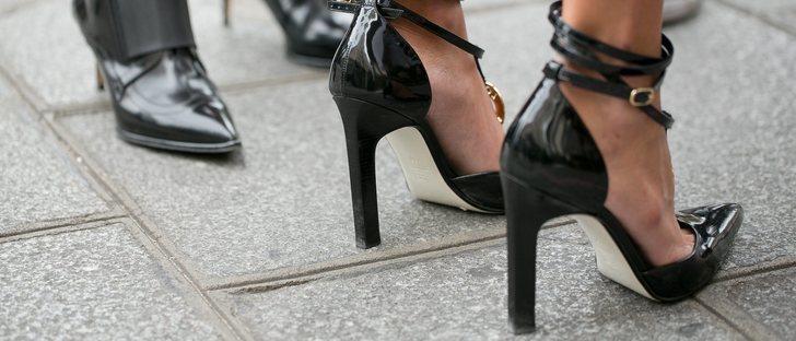 Zapatos adecuados para vestido largo de fiesta