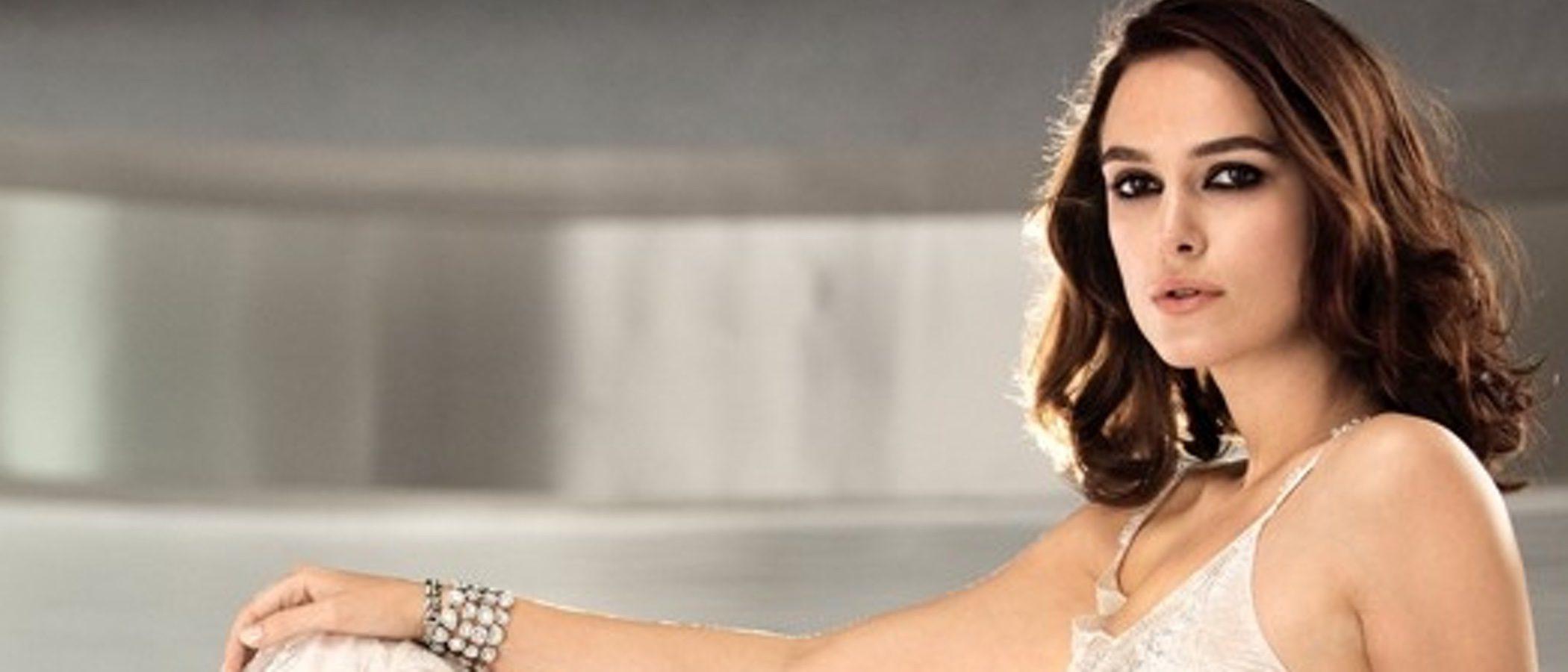 Keira Knightley, deslumbrante como nueva imagen de la joyería de Chanel