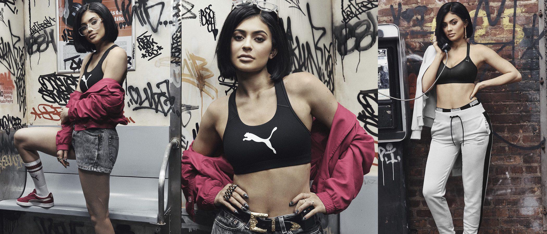 Puma apuesta por Kylie Jenner para lanzar su nueva colección 'Suede Forever Fresh'