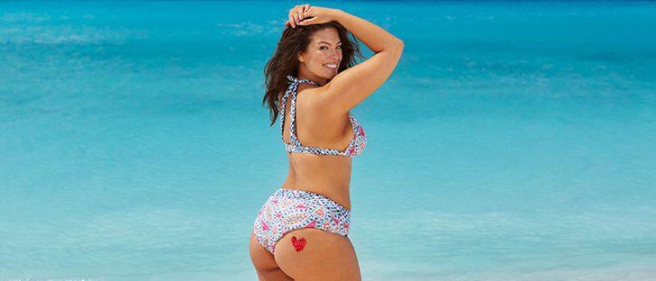 Ashley Graham remodela su colección 'Swim for all' añadiendo nuevos diseños