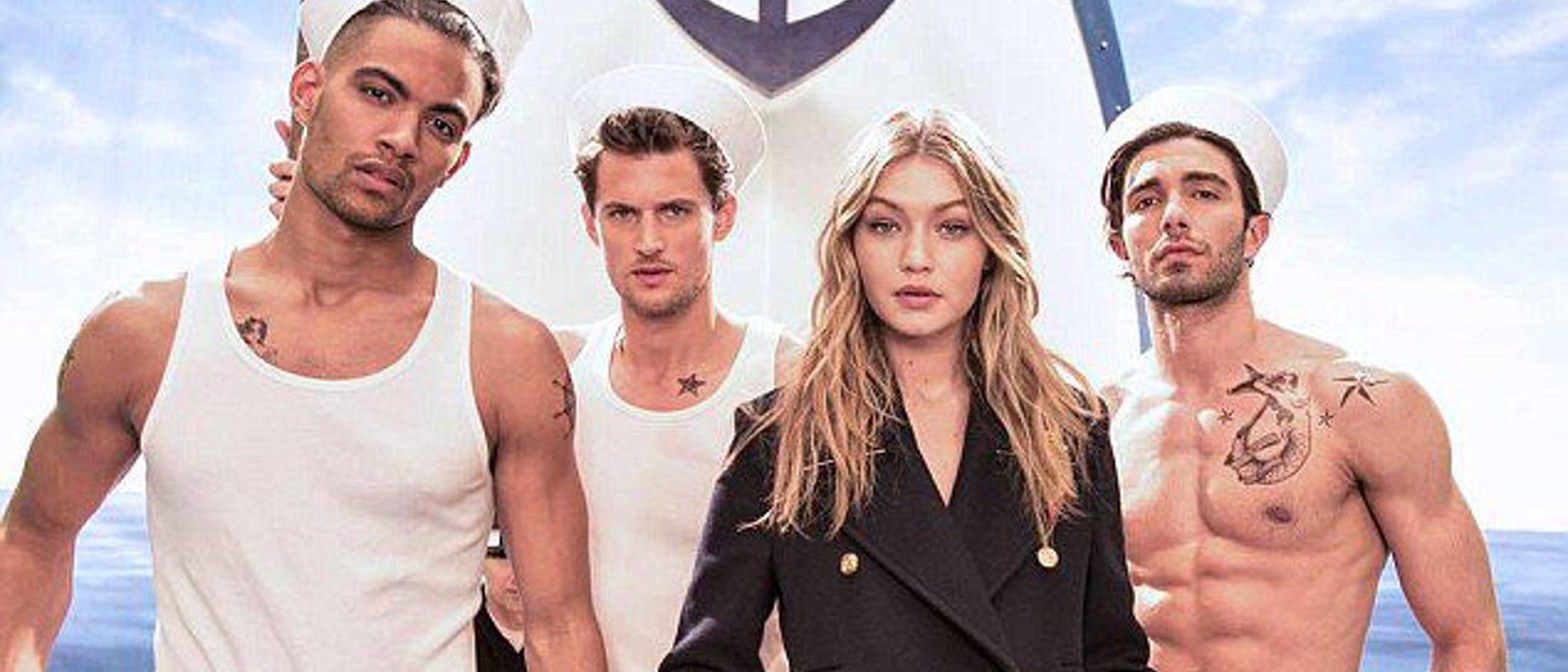 Gigi Hadid conquista el verano con la nueva colección cápsula navy de Tommy Hilfiger