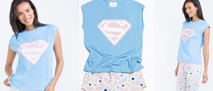 De 'it' a 'super girl': Women'secret lanza su colección de pijamas 'Wonder Woman'