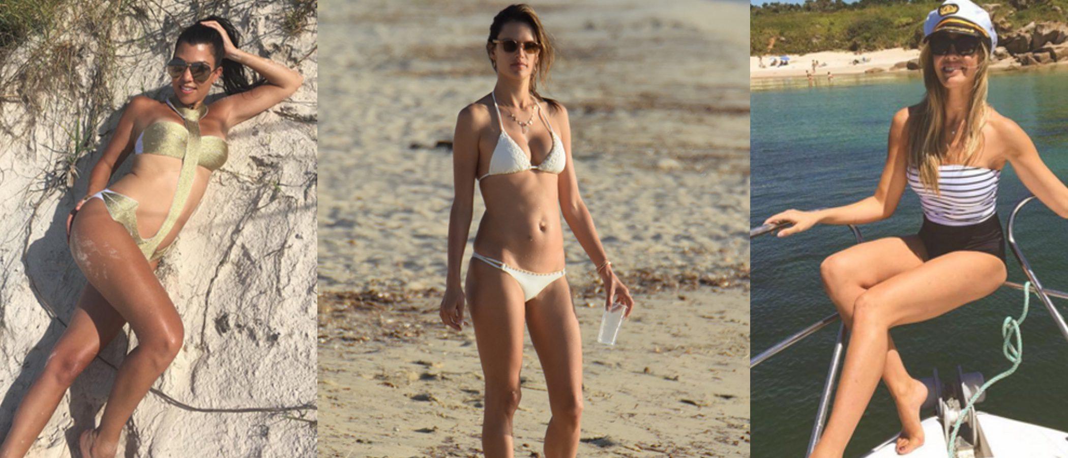 Playas paradisíacas: 5 celebrities que han marcado las tendencias este verano