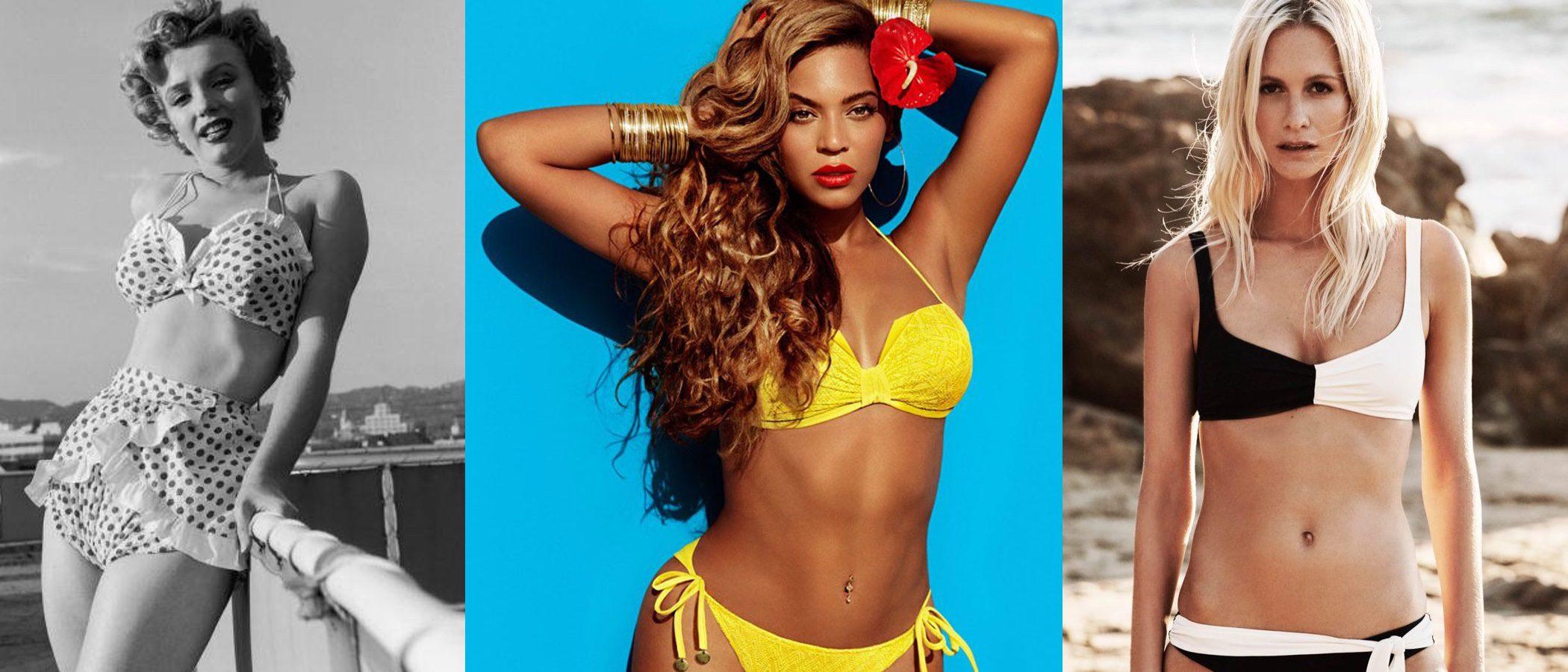 ¡El bikini cumple 70 años! Descubre las 7 tendencias que han marcado su historia