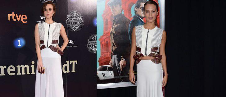 Elegancia o desparpajo: Aura Garrido vs. Alicia Vikander ante un Louis Vuitton