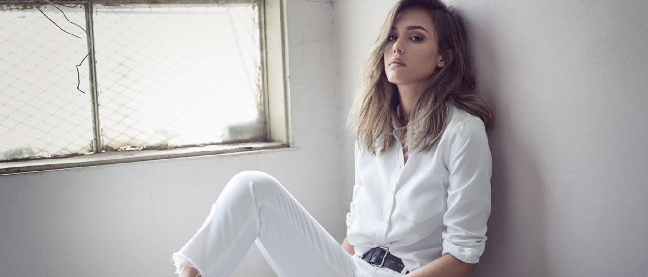 Jessica Alba lanza su primera línea de moda denim