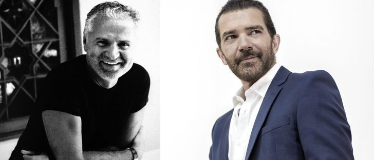 Antonio Banderas se transforma en Gianni Versace para la próxima película biográfica del diseñador