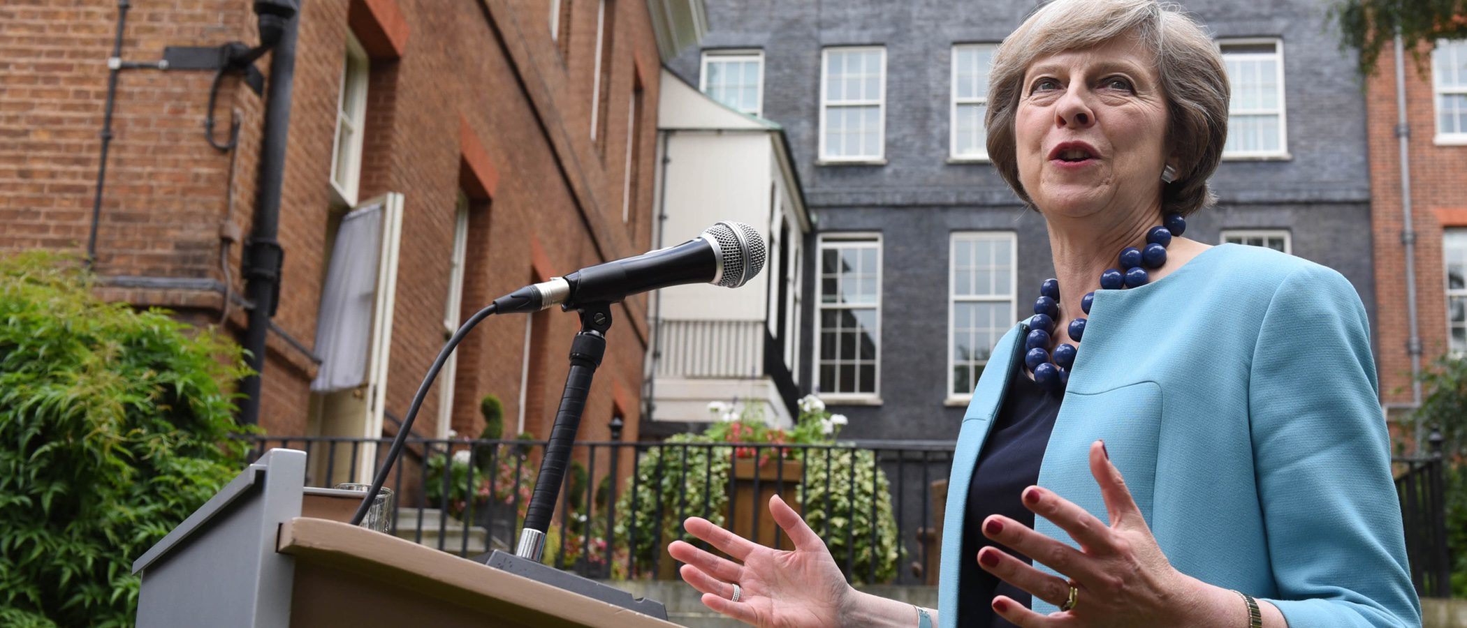 Theresa May, nueva ministra de Reino Unido o ¿un icono de estilo?