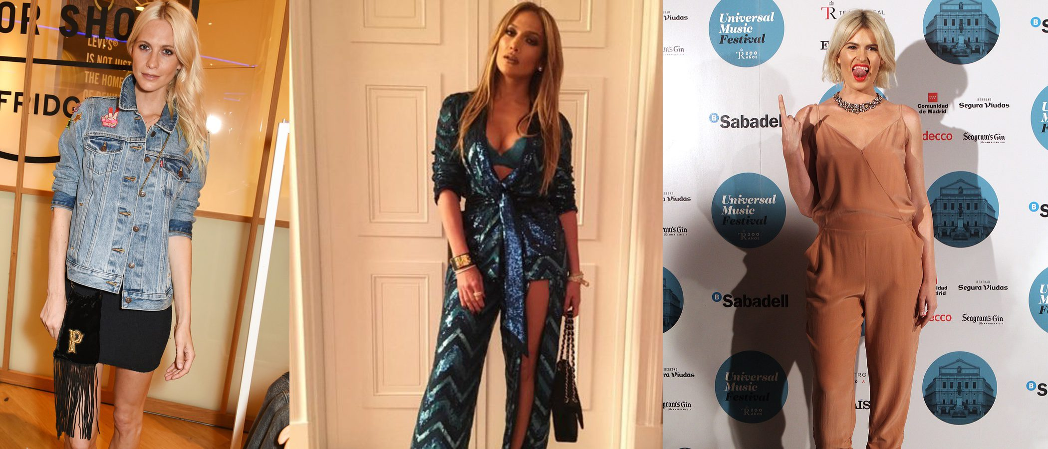 Adriana Abenia, Poppy Delevinge y Jennifer Lopez triunfan como mejor vestidas