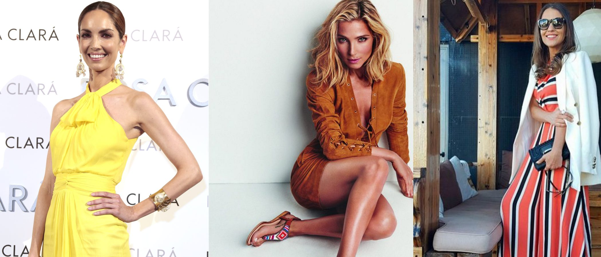 Ángel Schlesser, Dolores Promesas o las sandalias Omahas de Gioseppo triunfan entre las celebrities