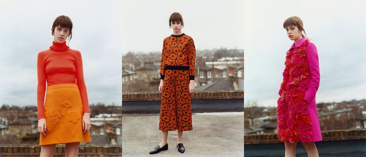 Victoria Beckham llena de color su colección otoño/invierno 2016/2017