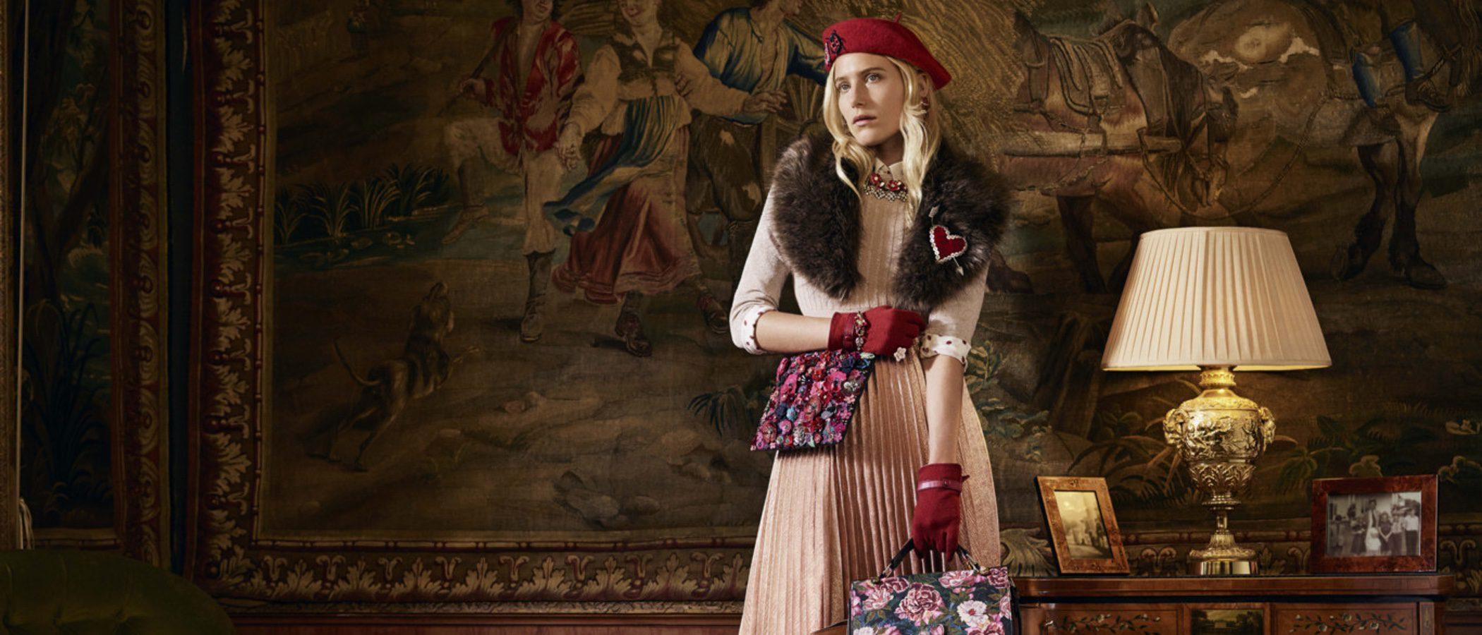 Dree Hemingway, protagonista de la campaña de Accessorize otoño/invierno 2016/2017