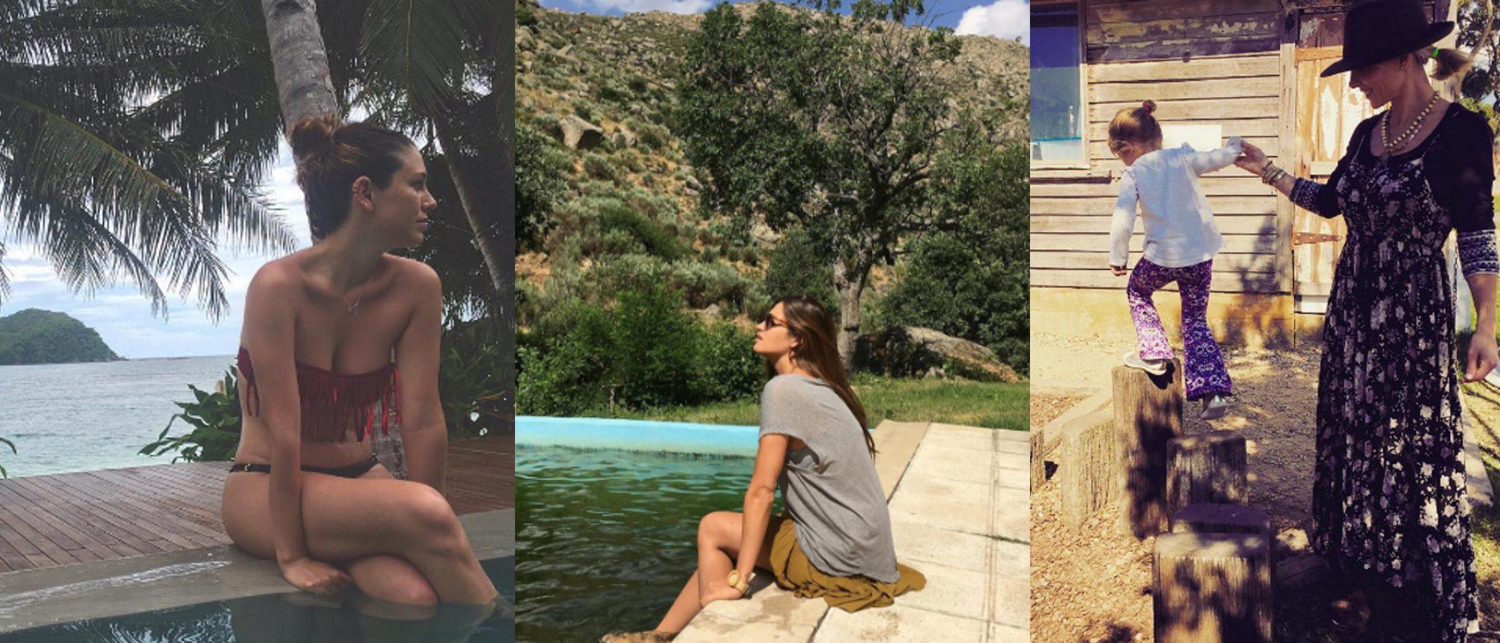 Elsa Pataky o Blanca Suárez: celebrities de estilo étnico que disfrutan de vacaciones en la montaña