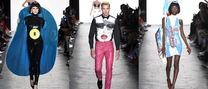 Los colores fluor y el estilo ochentero se suben a la New York Fashion Week con Jeremy Scott
