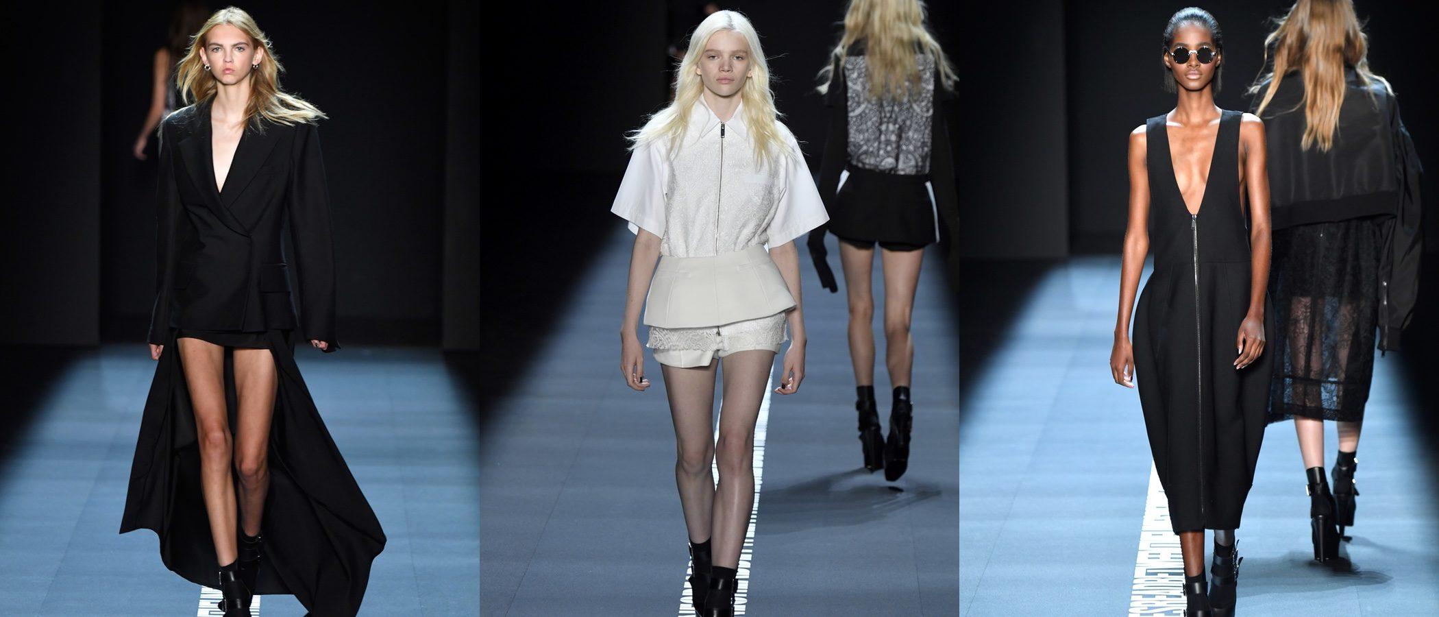 Vera Wang apuesta por el bicolor en la pasarela de la Semana de la Moda de Nueva York