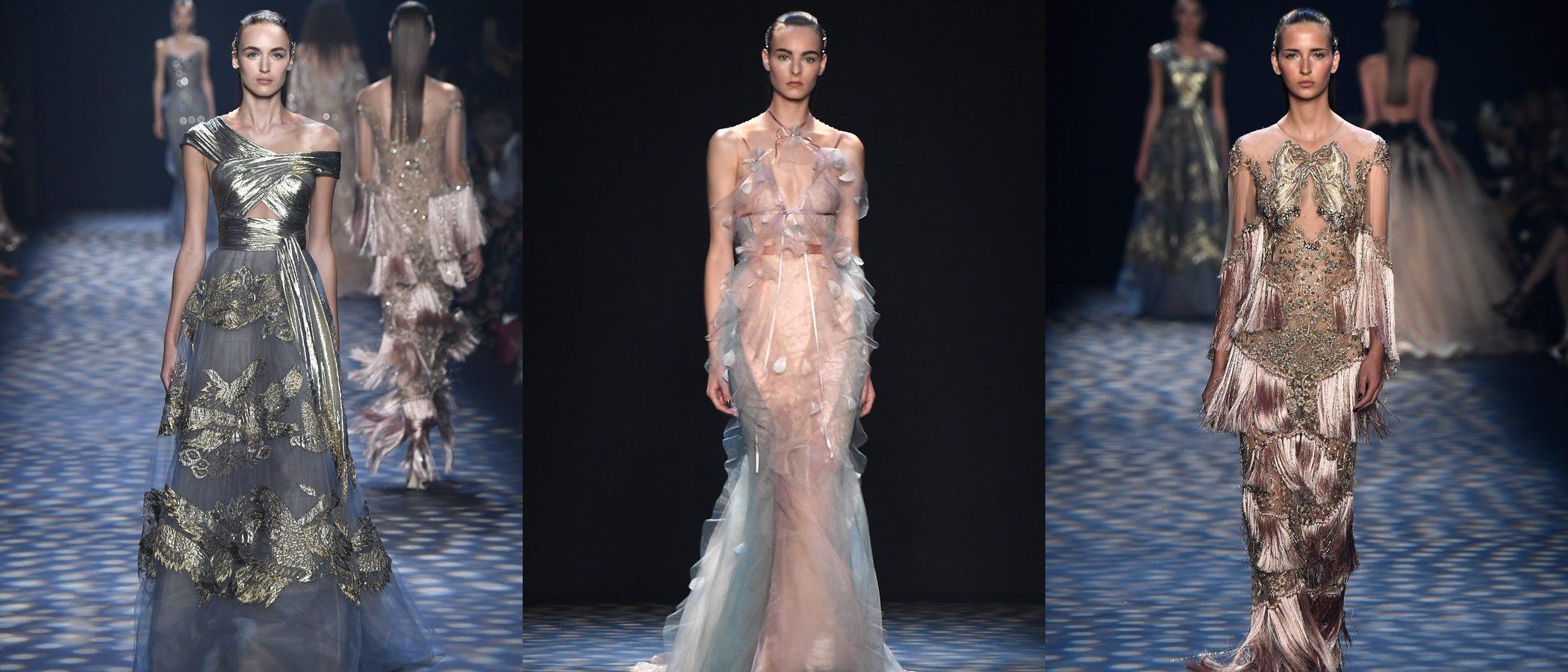 Los cuentos de princesas desfilan en la New York Fashion Week con Marchesa