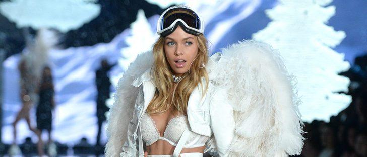 Stella Maxwell presenta la nueva lencería de la colección 'Dream Angels' de Victoria's Secret