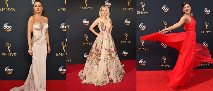 Sofía Vergara, Claire Danes, Priyanca Chopra, Sarah Hyland y Kristen Bell, las mejor vestidas de los Emmy 2016