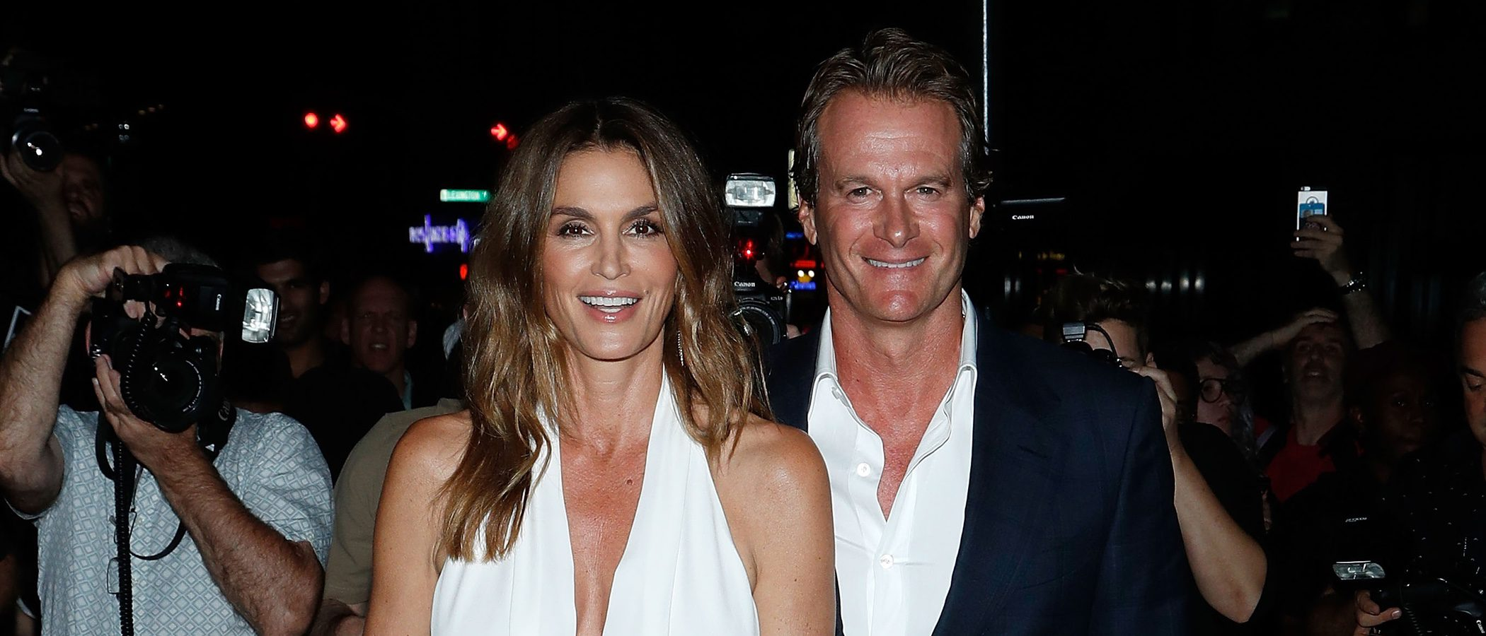 Cindy Crawford no se pierde el desfile de Tom Ford en la New York Fashion Week