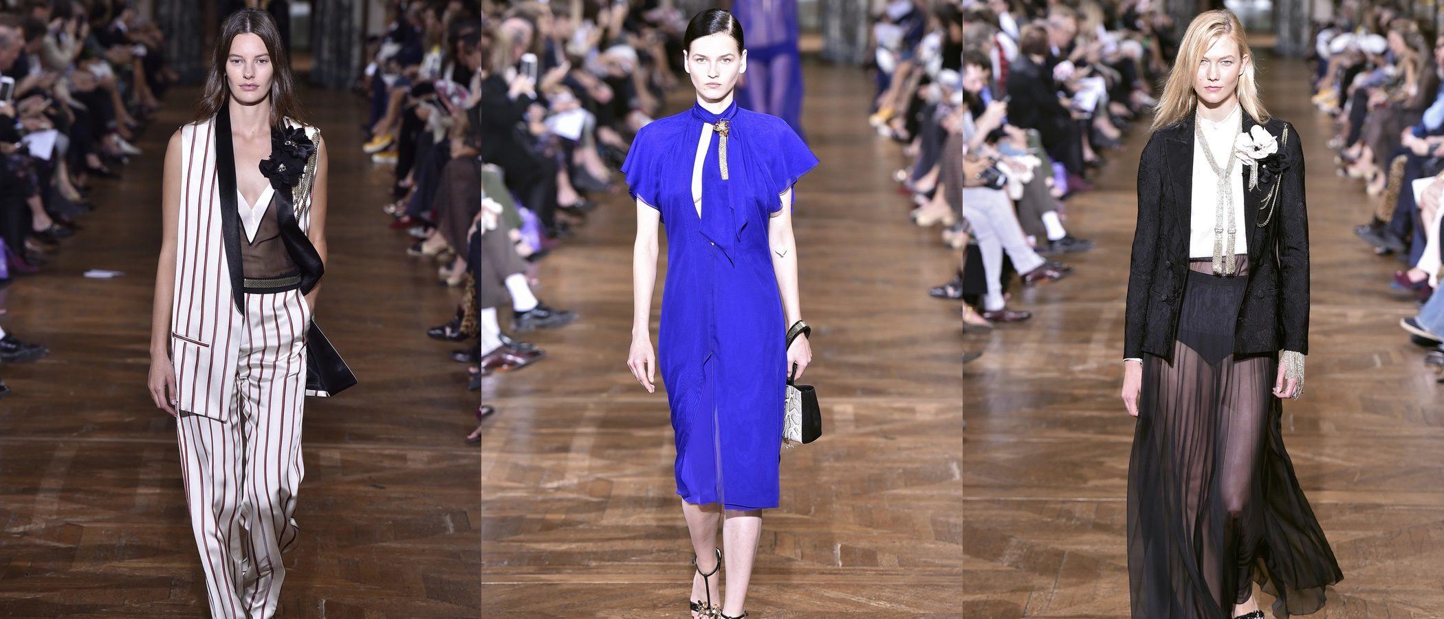 Lanvin estrena diseñadora en la París Fashion Week con su colección primavera/verano 2017
