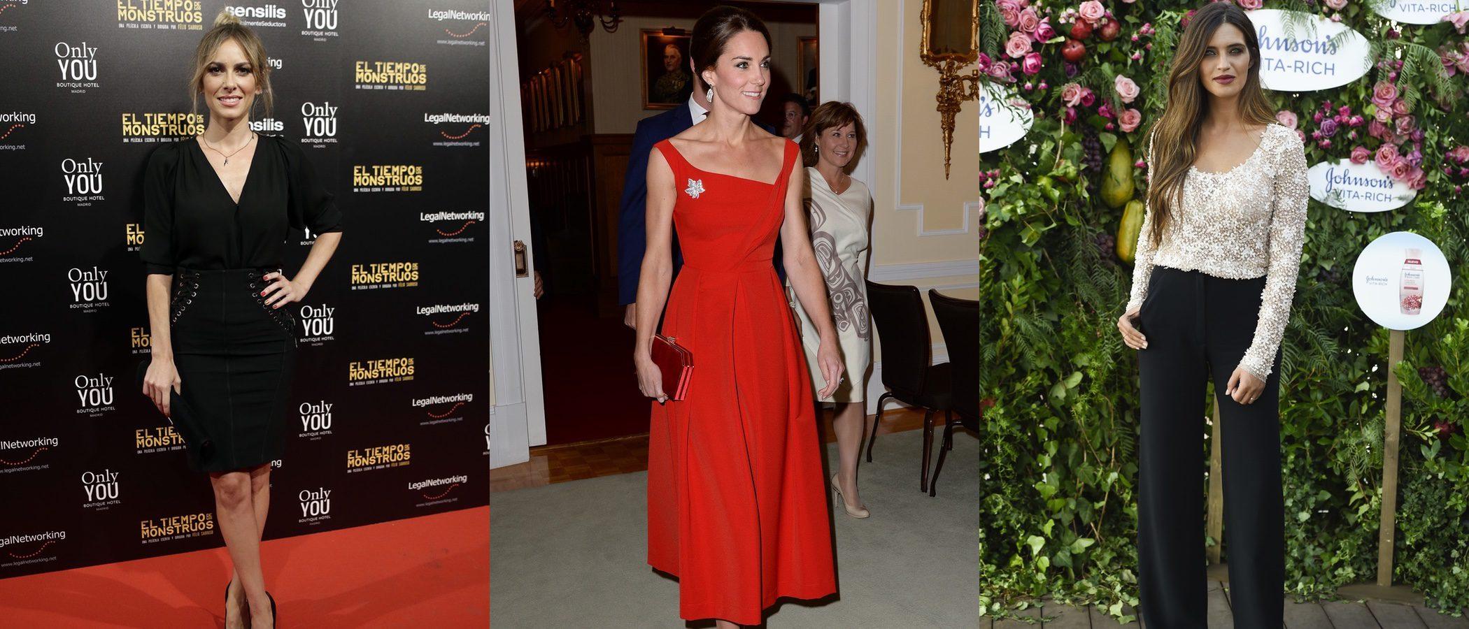 Kira Miró, Kate Middeton y Sara Carbonero triunfan entre las mejor vestidas de la semana