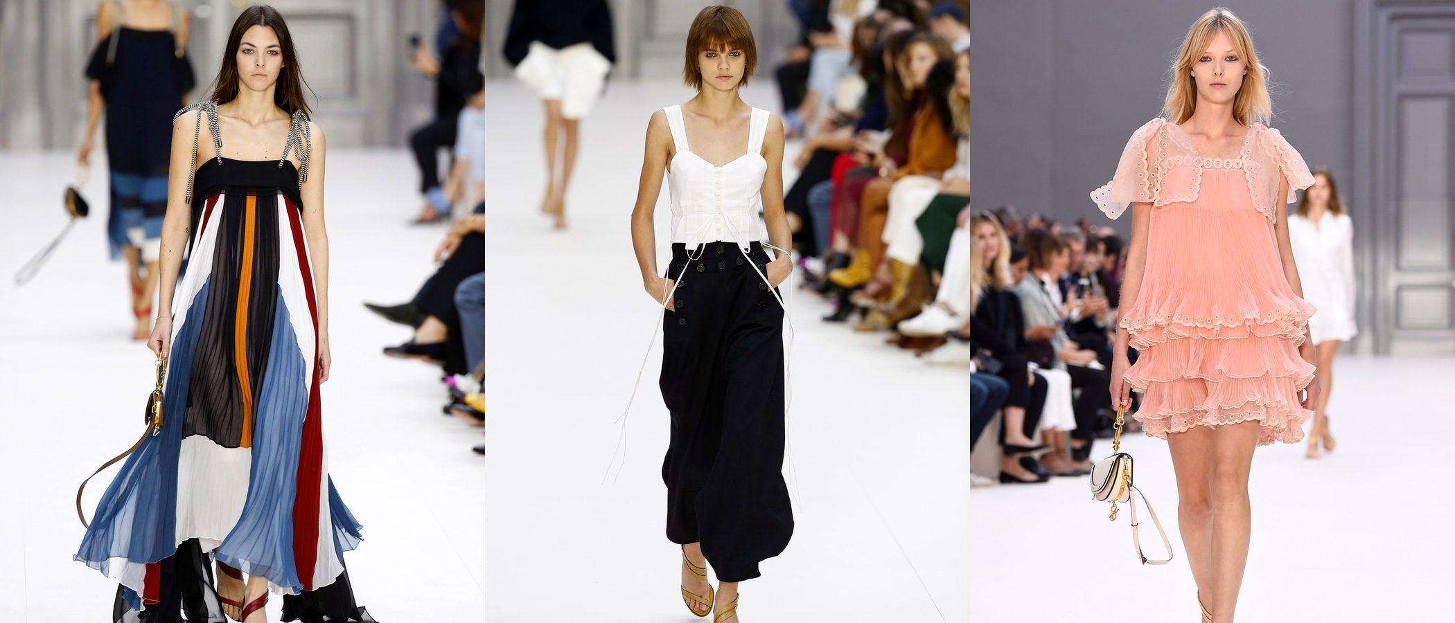 Chloé apuesta por el estilo urbano para primavera/verano 2017 en la París Fashion Week