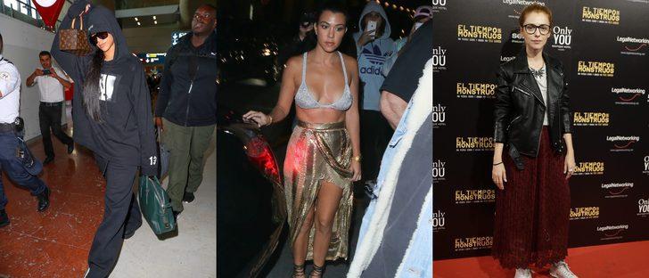 Rihanna, Kourtney Kardashian y Leticia Dolera entre las peor vestidas de la semana