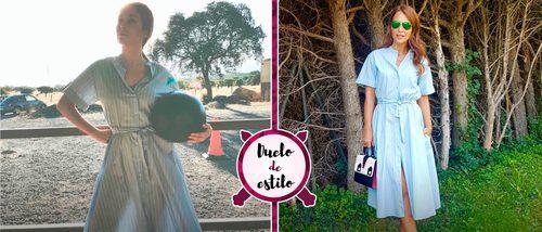 Paula Echevarría y Blanca Suárez con un mismo vestido de Zara: ¿quién lo luce mejor?