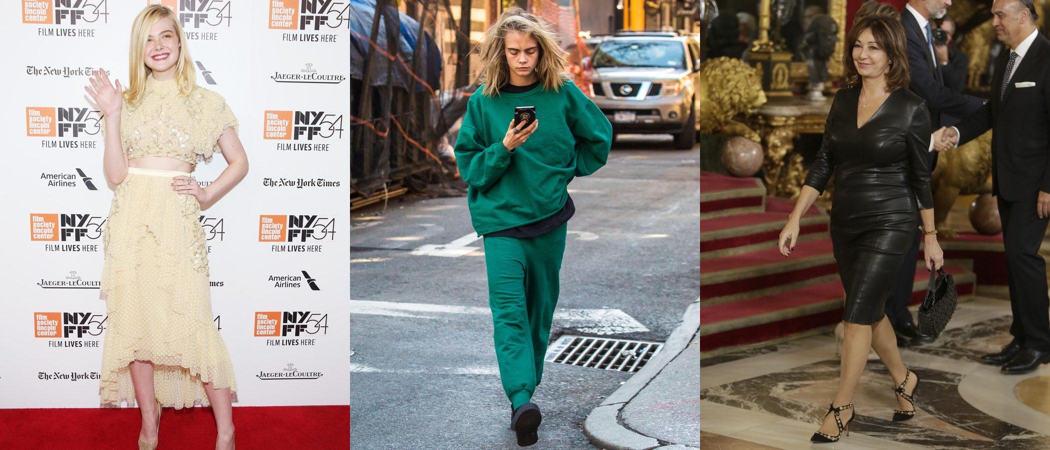 Cara Delevingne, Elle Fannig y Ana Rosa Quintana se hunden como las peor vestidas de la semana